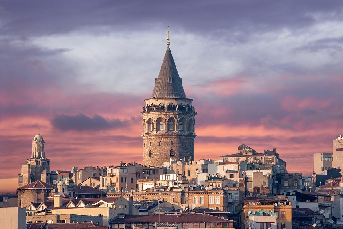 تركيا اسطنبول اهم الاماكن السياحية برج غالاتا
