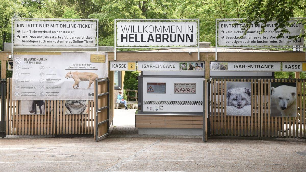 المانيا ميونخ اهم الاماكن السياحية حديقة الحيوانات هيلابرون