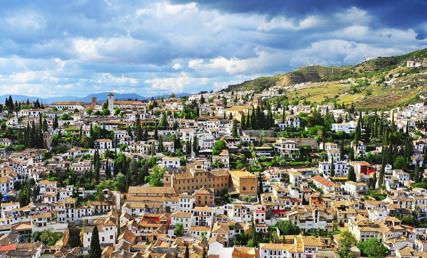 إسبانيا غرناطة اهم الاماكن السياحية حي البيازين