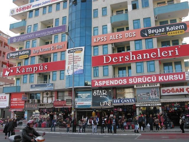 تركيا انطاليا اهم اماكن التسوق والمطاعم سوق دوغو غارجي