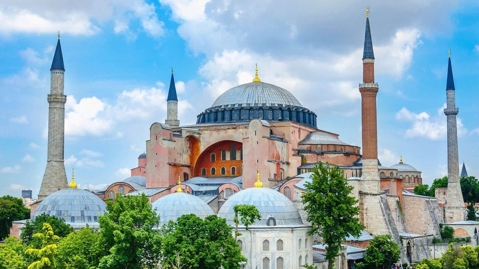 تركيا اسطنبول مسجد ايا صوفيا