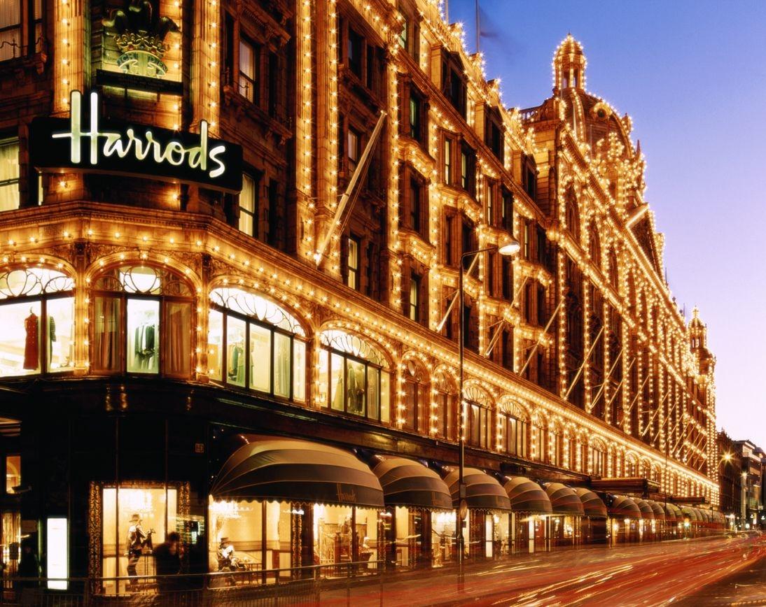 بريطانيا لندن افضل اماكن التسوق والمطاعم مول هارودز لندن
