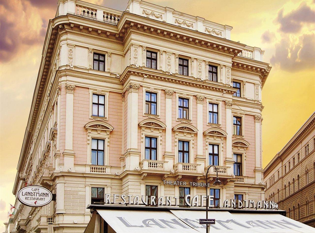 النمسا فيينا افضل اماكن التسوق والمطاعم مقهي لاندتمان