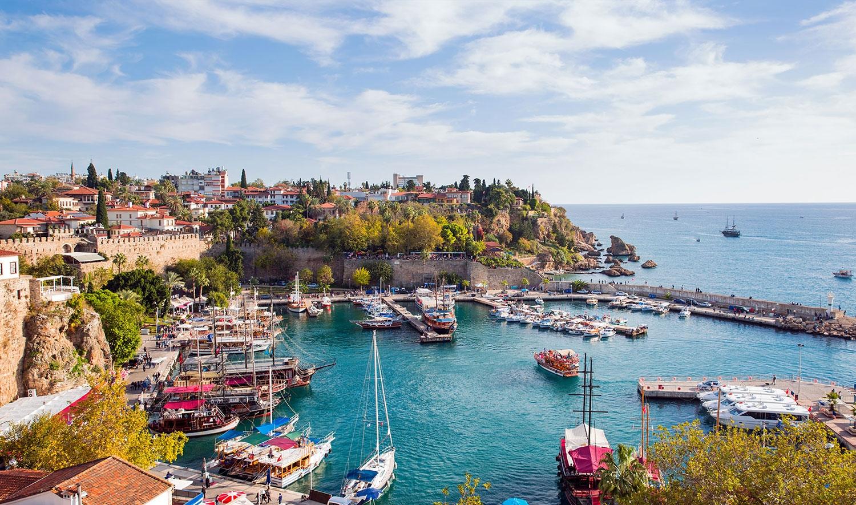 تركيا انطاليا اهم الاماكن السياحيه كاليتشي (البلده القديمه)