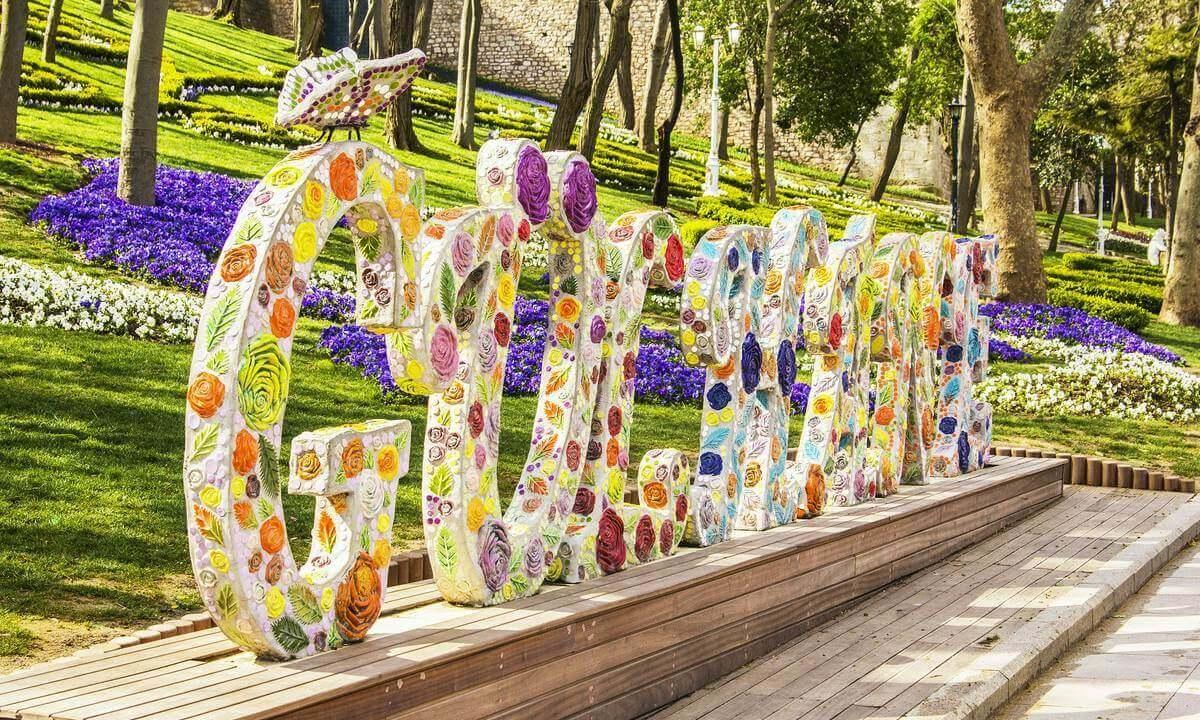 تركيا اسطنبول اجمل الاماكن السياحيه حديقة جولهانه اسطنبول