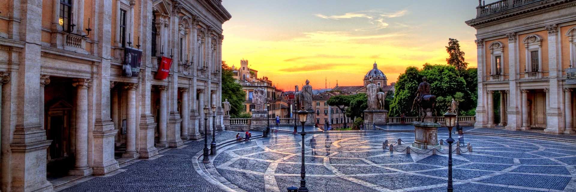 ايطاليا روما اهم الاماكن السياحيه هضبة كابيتولين