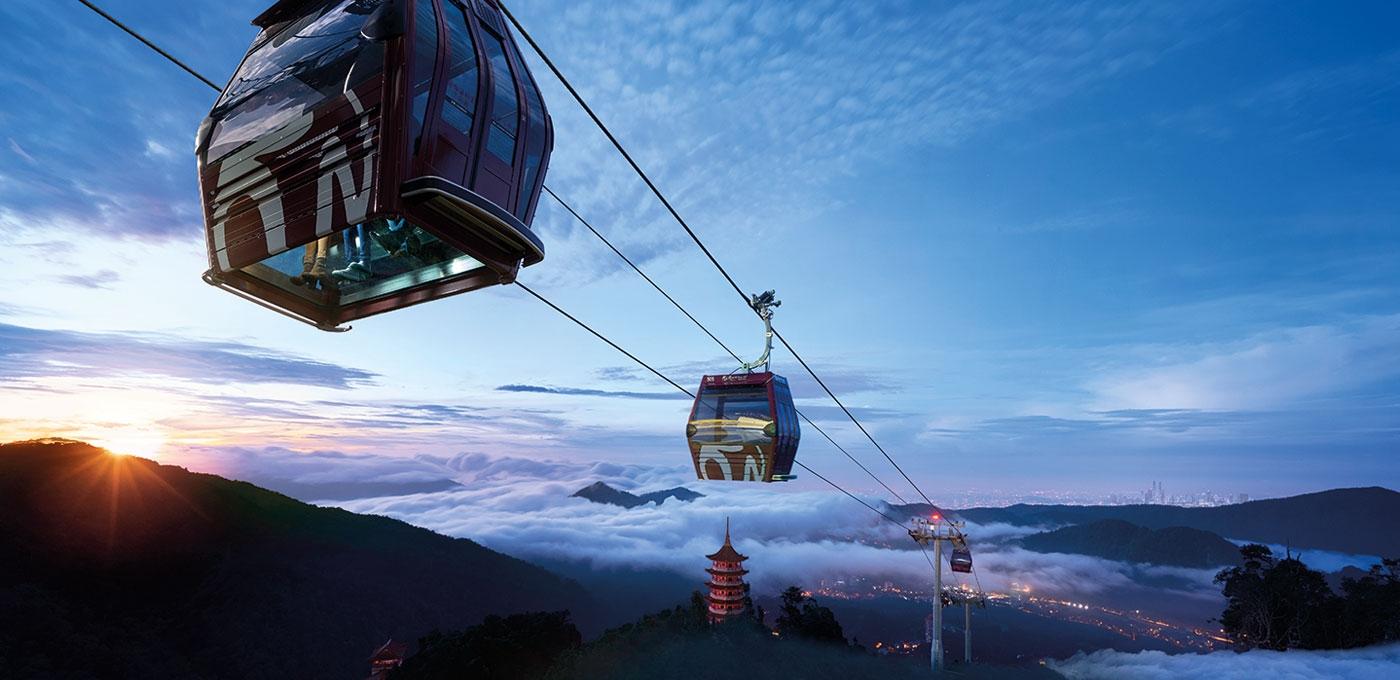 ماليزيا مرتفعات جنتنج الاماكن السياحيه تلفريك جنتنج هايلاند
