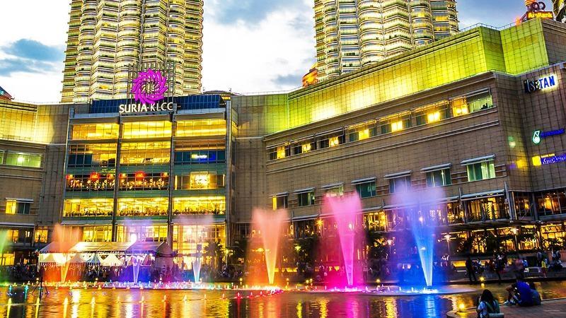 ماليزيا اماكن التسوق كوالالمبور مجمع البرجين