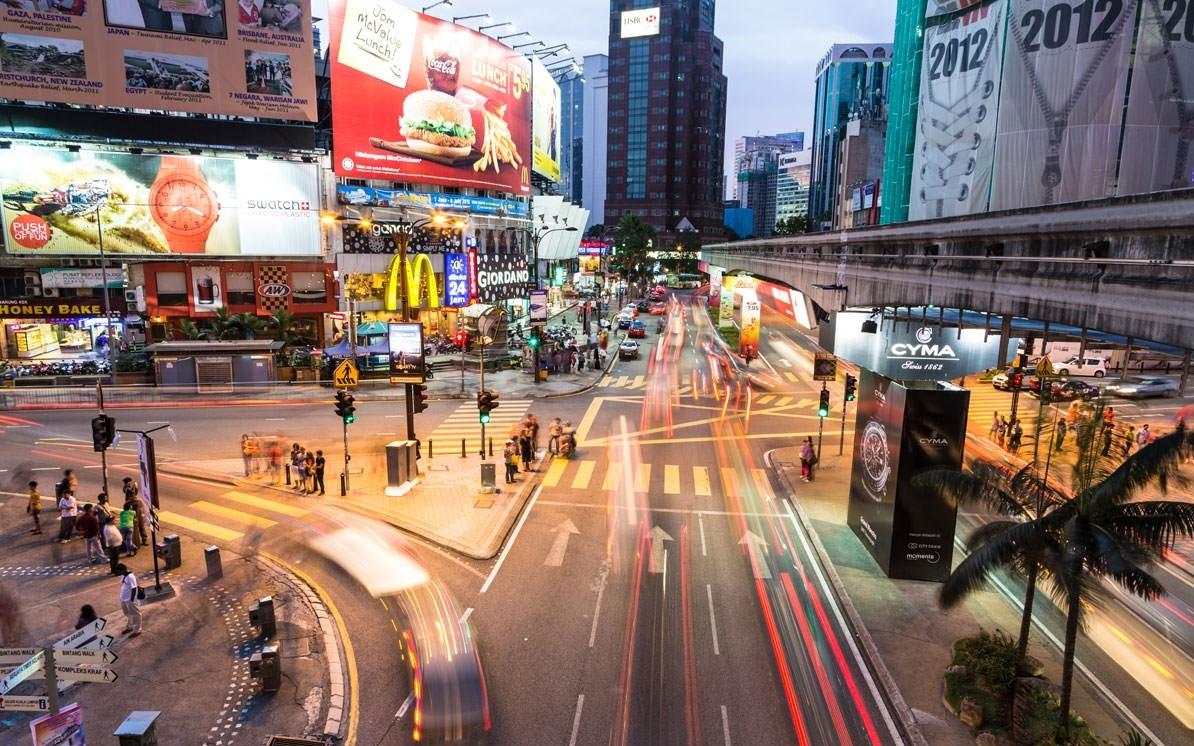 ماليزيا اماكن التسوق كوالالمبور شارع العرب