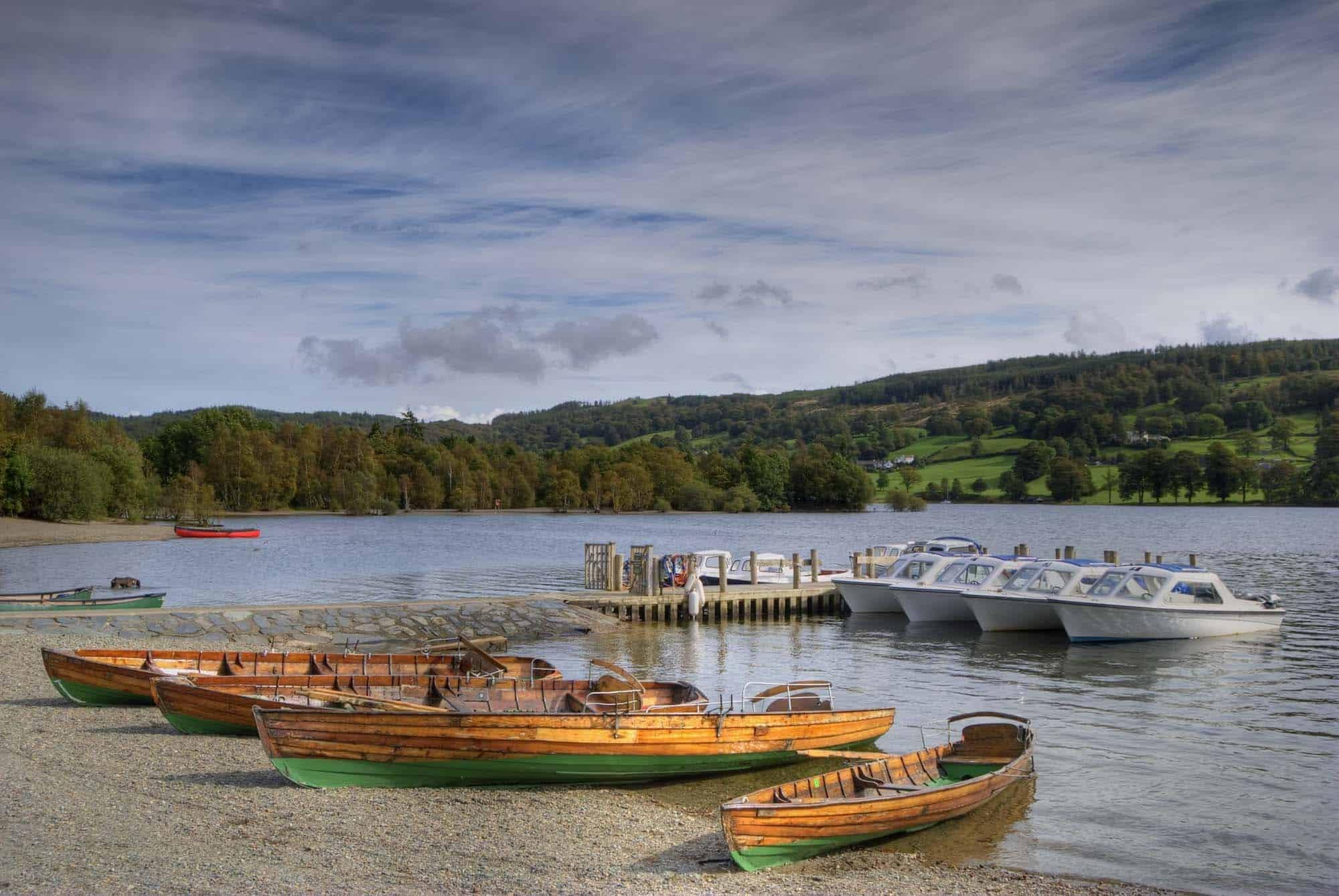 بريطانيا منطقة البحيرات اهم الاماكن السياحيه مركز كونيستون للزوارق